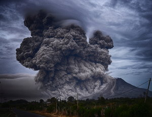 """Mount Sinabung, Indonesia"" by Yosh Ginsu @ unsplash.com"